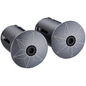 Supacaz Star Plugz - anodizado, 60 mm gris